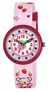 Swatch Flik Flak Strawberry Teddy Bear Unisex Watch ZFBN034