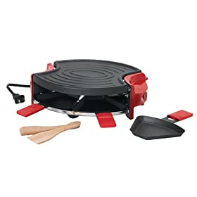 Trudeau 8-Piece Electric Mini Grill Party Set