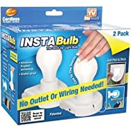 Telebrands 6210-6 Insta Bulb Utility Light Bulb - As Seen On TV-INSTA BULB