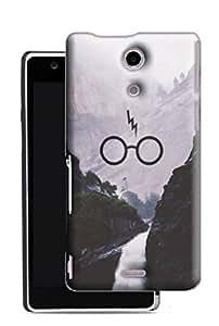 PrintFunny Designer Printed Case For Sony Xperia ZR