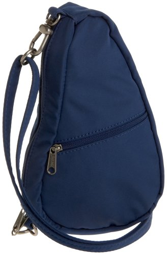 AmeriBag Microfiber Baglett Shoulder Bag,Midnight Blue,one size