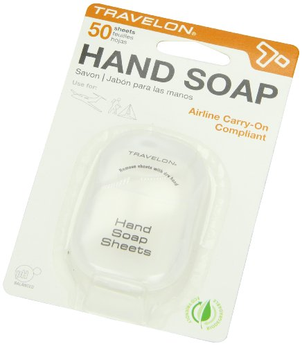 Travelon Hand Soap Toiletry Sheets, 50Count Picture