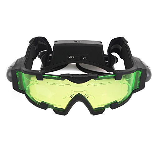 Learn More About AGM Adjustable Night Vision 25 Feet Goggles with Flip-out Lights Green Lens Great T...