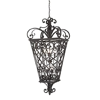 Quoizel FQ1931MK01 French Quarter 8 Light Outdoor Hanging