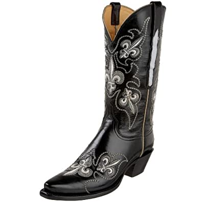 Amazing 1883 By Lucchese Women39s N8655 54 Western BootTan Burnish6 BMUS