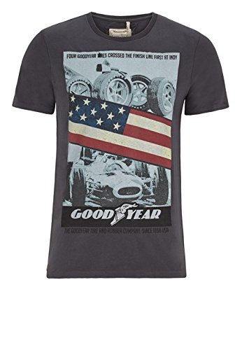 Goodyear Herren T-Shirt Scottdale, Color:concrete grey;Größe:S