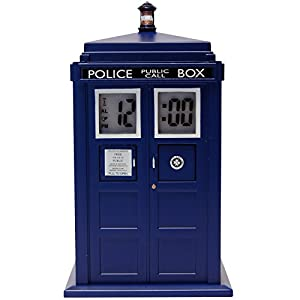 Doctor who tardis projection alarm clock home kitchen - Tardis alarm clock ...
