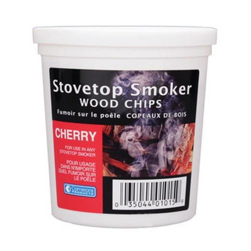 Cherry Wood Smoker Chips- 100% Natural, Fine Wood Smoker and Barbecue Chips- 1 Pint (Cherry Wood Chips compare prices)