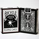 Black Spider Deck- Bicycle by United States Playing Card Company by United States Playing Card Company