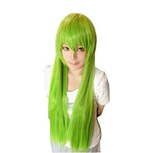 F&C Code Geass Lelouch of the Rebellion Anime Sexy C.c Cosplay Hair Party Wig