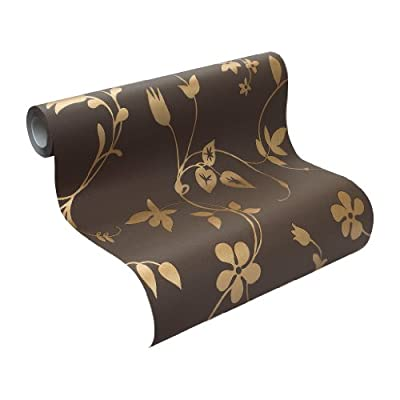 Rasch Tapete Non-woven Wallpaper Modern Floral Design