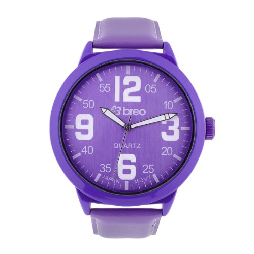 Breo B-TI-SD2 Unisex Salvador Purple Watch