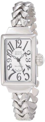 Glam Rock MBD27036 - Reloj de pulsera mujer, acero inoxidable, color plateado