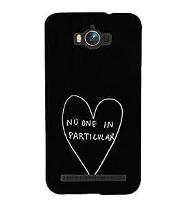 Heart Quote 3D Hard Polycarbonate Designer Back Case Cover for Asus Zenfone Max ZC550KL :: Asus Zenfone Max ZC550KL 2016 :: Asus Zenfone Max ZC550KL 6A076IN