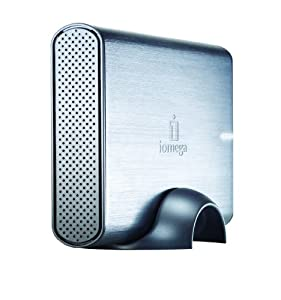 Iomega - Professional Hard Drive - Hard drive - 500 GB - external - 3.5'' - Hi-Speed USB eSATA-300 - sleek metal