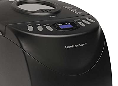 HAMILTON BEACH HomeBaker Bread Maker 2.00 lb Capacity - Black / 29882 / by Hamilton Beach