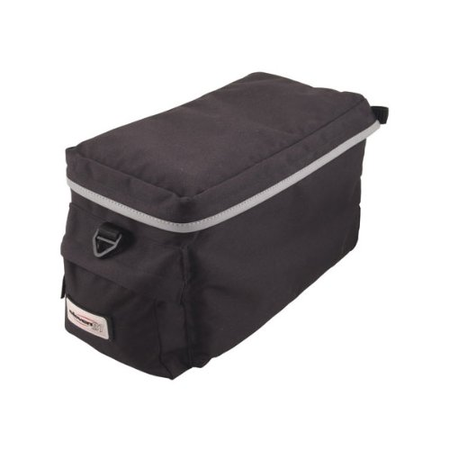 Eleven81 City Limit Trunk Rack Bag Black