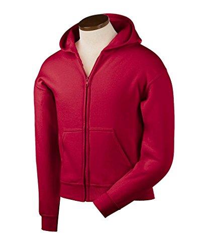 Gildan Heavy Blend Youth 8 oz., 50/50 Full-Zip Hooded Sweats