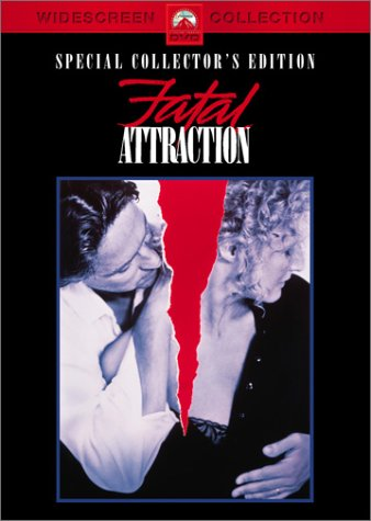 Movie: Fatal Attraction with Michael Douglas, Glenn Close