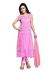 Fabdeal Daily Wear Brasso Salwar Kameez ( AABT8DR1016SC_Baby Pink )