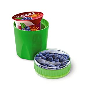 Fit & Fresh Kids Chilled Healthy Snack Container, Freezer-safe, BPA-Free