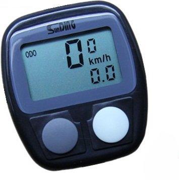 Bicycle Cycle Computer Odometer Speedometer Digital Meter Cycling Bike