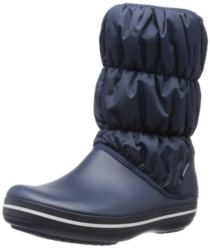 Crocs Winter Puff Boot W, Stivali, Donna, Azul (Navy/Navy 463), 37.5