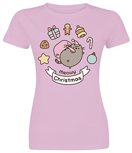 Pusheen -  T-shirt - Donna Light Pink Small