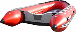 Saturn 14 ft Red Inflatable Boat by Saturn