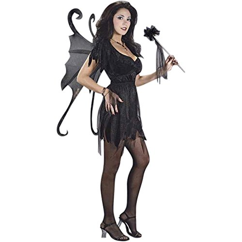 Girl's Teen Midnight Fairy Costume