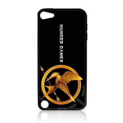 The Hunger Games TPU Rubber Plus Hard Case Cover Skin for Ipod Touch 5g 5 5th Generation - Free Plastic Retail Packaging Box