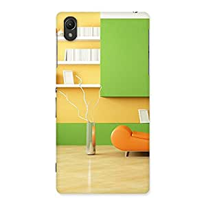 Pleasant Home Multicolor Back Case Cover for Sony Xperia Z2