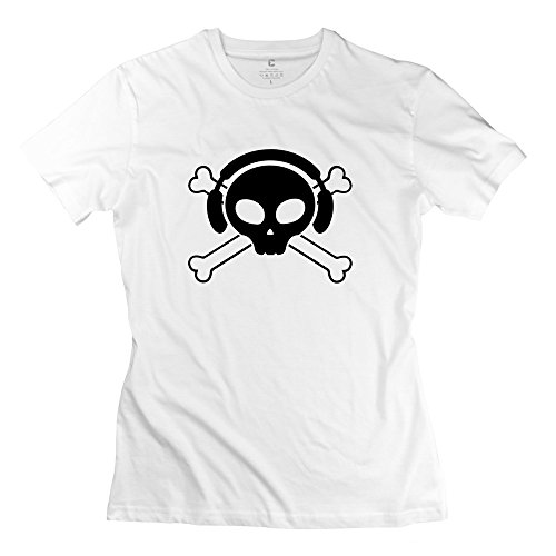 Pirate Skull Dj Nice Women T-Shirt