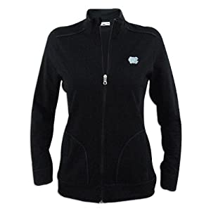 North Carolina Tar Heels Ladies Cutter and Buck Ravenna Raw Edge Full Zip Jacket by Cutter & Buck