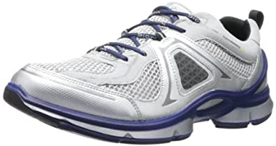 ECCO爱步男士健步系列高端跑鞋Biom Evo Trainer Lite银白兰 $99.72