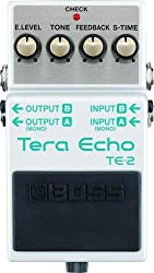 Boss TE-2 Tera Echo Adaptive Delay Effect Pedal (Used-Mint) by Boss