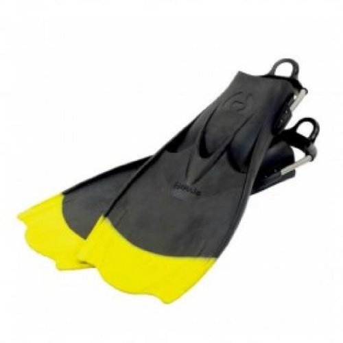 Hollis F-1 Yellow Tip Scuba Diving Technical Diving Fin - Size XX-Large