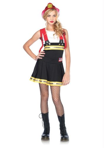 Costumes For All Occasions Uaj48047Sd Sweetheart Firefighter Jr S/D