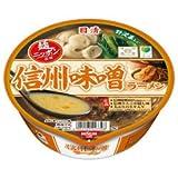 日清 麺ニッポン 信州味噌ラーメン 1ケース(12食入)