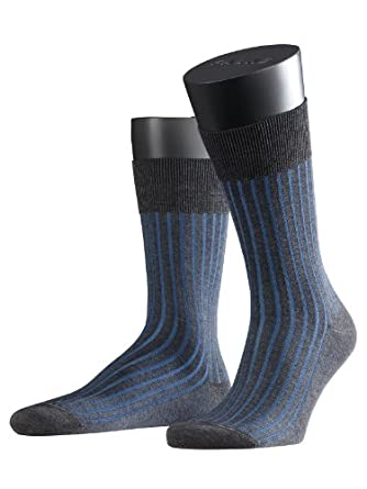 FALKE Herren Socken 14648 Shadow Business SO, Gr. 39/40, Grau (anthracite mel. 3191)