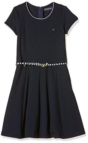 tommy hilfiger m dchen kleid punto dress s s blau navy blazer 431. Black Bedroom Furniture Sets. Home Design Ideas