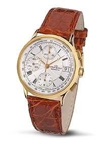Philip Watch Gold Story R8041948021 - Reloj de caballero automático, correa de piel color marrón
