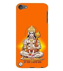 Sri Hanuman 3D Hard Polycarbonate Designer Back Case Cover for Apple iPod Touch 5
