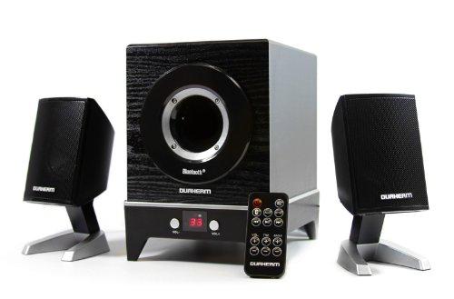 Durherm Dr-S40Bt Bluetooth Wireless 2.1 Ch Subwoofer Speaker System With Wireless Remote Controller