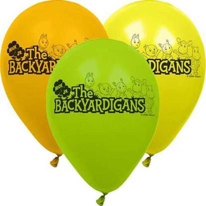 The Backyardigans 12in Balloons 6ct - 1