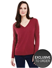 Plus Cashmilon™ V-Neck Jumper