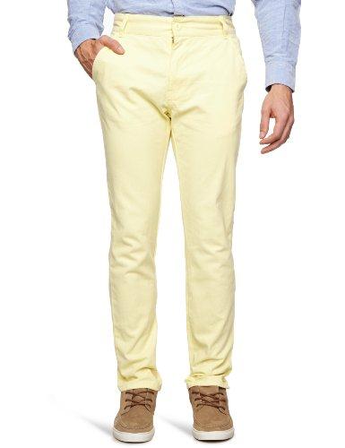Bellfield MTRS-11214ST Slim Men's Trousers Straw W30 INxL32 IN