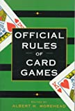 The Official Rules of Card Games (0449911586) by Morehead, Albert H.