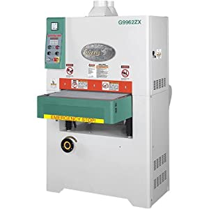 grizzly g9962zx 24 inch wide belt sander 10 hp 3 phase
