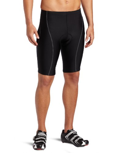 Buy Low Price Canari Cyclewear Men's Gel Force Padded Cycling Short (1056-BLACK)